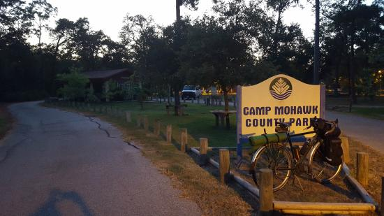 Alvin, TX: Entrance at Camp Mohawk