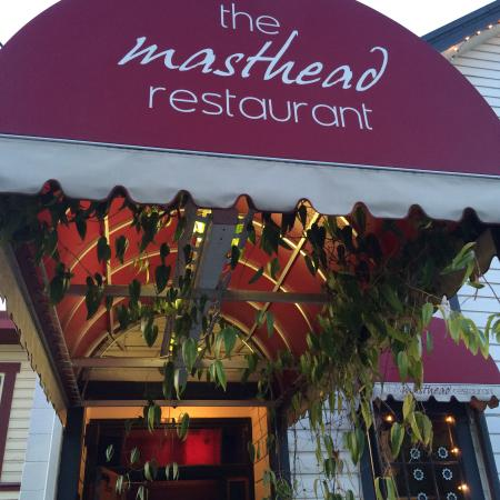 Masthead Restaurant: The entry