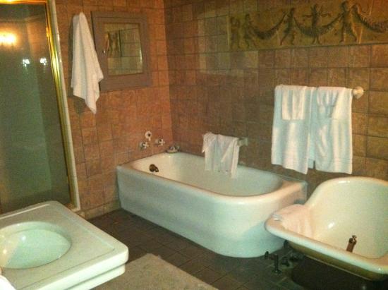 Grand Island Mansion: bathroom