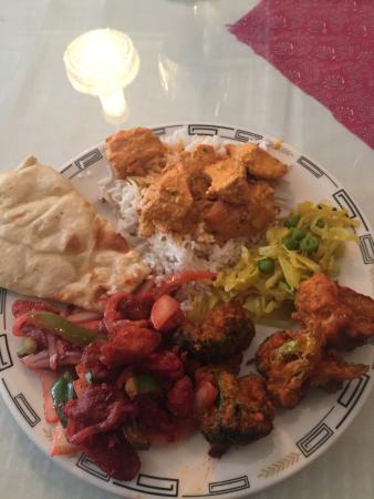 Taste of India: My selection from the lunch buffet
