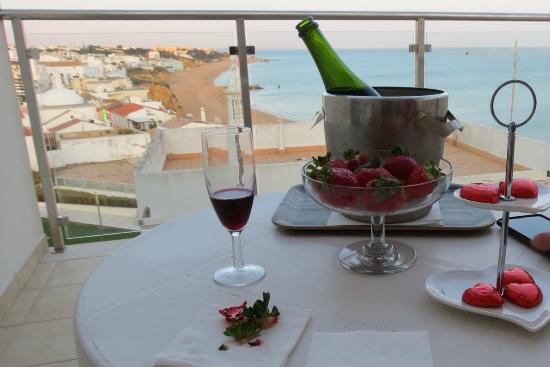Hotel Sao Vicente: Our balcony