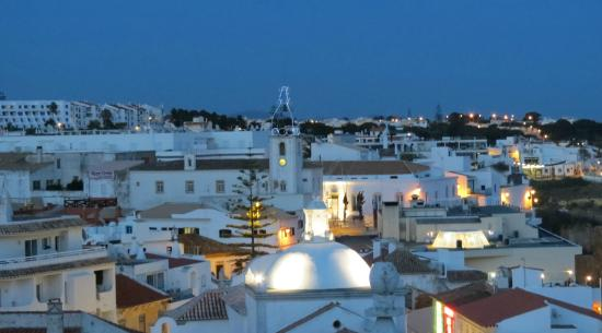 Hotel Sao Vicente: The view of the city in early evening