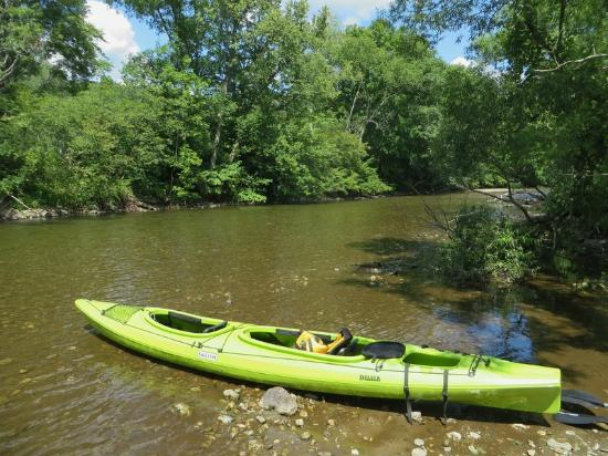 Cambridge, NY: tandem kayak - they have singles as well