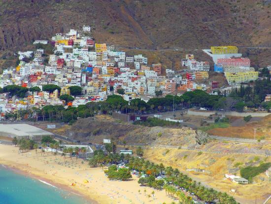 Playa de las Teresitas: paesaggio