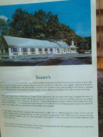 Bethel, VT: History of Toziers