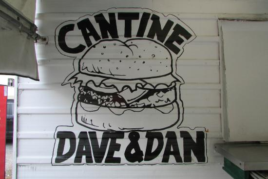 Cantine Chez Dave & Dan: Cantine Dave et Dan