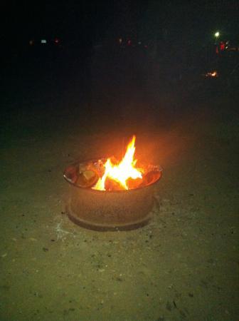 New Hampton, New Hampshire: Campfire