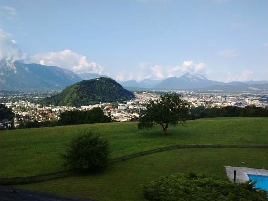 View From The Hotel Picture Of Schone Aussicht Salzburg Tripadvisor