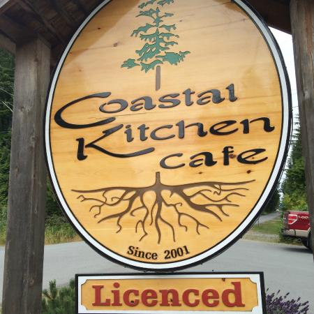 Coastal Kitchen: Signage from the street