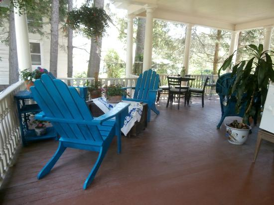 River Run Bed & Breakfast: just one portion of the front porch!