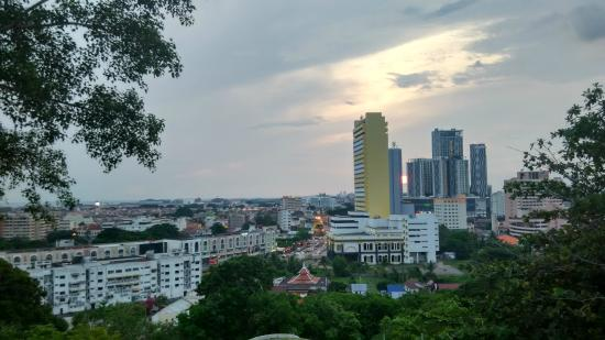 Bukit China (Chinese Hill) : View from the top of Bukit Cina