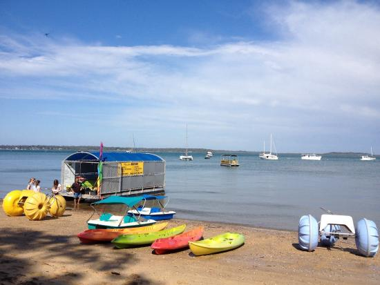 Coochiemudlo Island, Australie : Perfect day on Coochie...