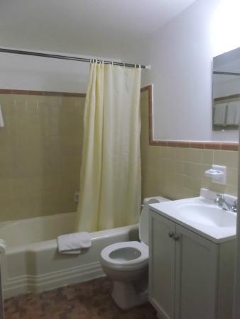 Royal Inn Motel: full bathroom