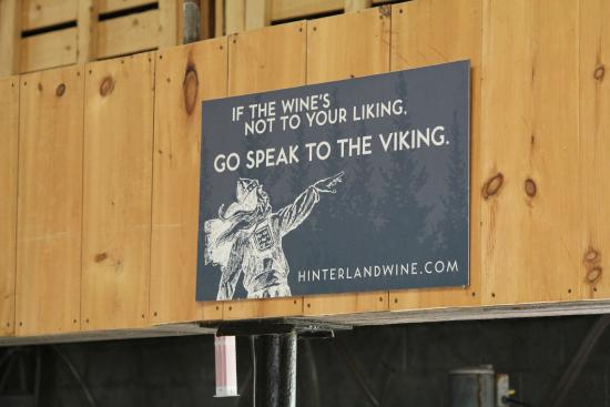 Hinterland Winery: No comment