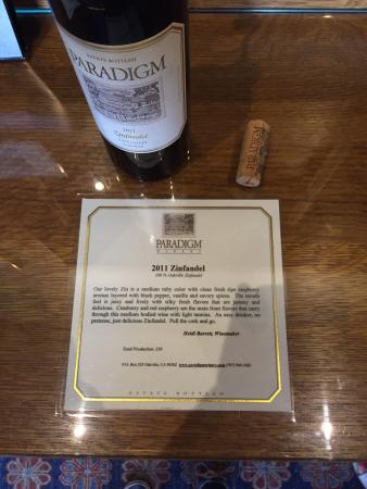 Paradigm Winery : photo1.jpg