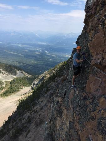 Golden, Kanada: Going vertical