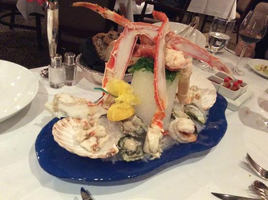 Cache Creek Casino Resort: 호텔 식당의 식사 일부