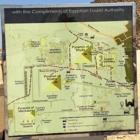 Peta Piramida Giza Picture Of Pyramids Of Giza Giza TripAdvisor - Giza map