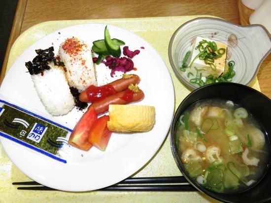 Hotel Yes Nagahama Ekimaekan: 朝食バイキング
