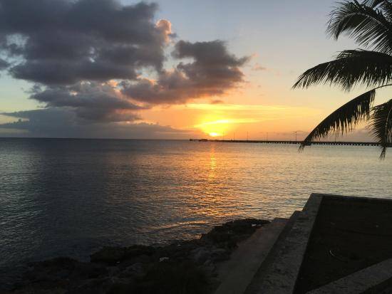 Sand Castle on the Beach : Sunset in Frederiksted