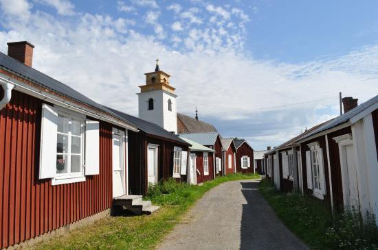 Miasteczko przy Kościele w Gammelstad