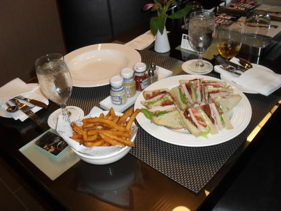 Vdara Hotel Spa Room Service Beautifully Set Up For Your Dining