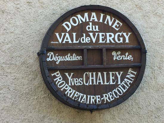 Hotel Le Manasses : Yves Chaley, vintner