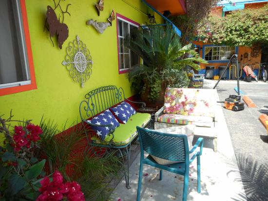 Villa Brasil Motel: My front patio