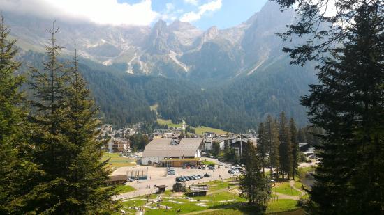 Hotel Orsingher: paesaggio