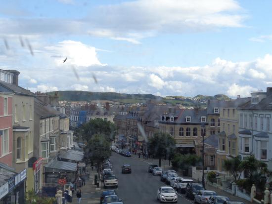 Empire Hotel Llandudno: View from our front-facing room