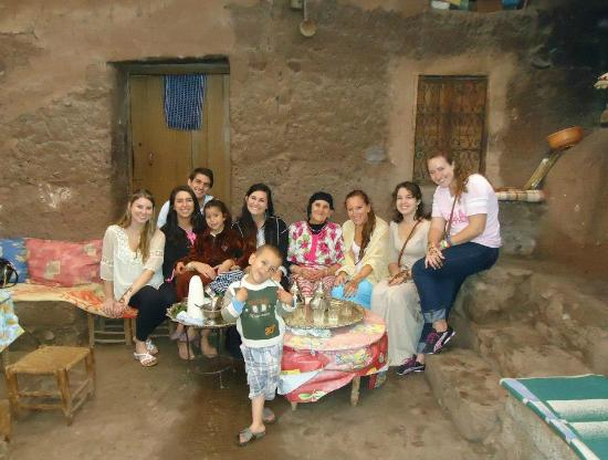 Splash Morocco Day Trips : The traditional home we visited