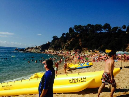 Lloret Beach : atracción