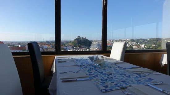 Hotel Eurosol Leiria: Vista sobre a cidade