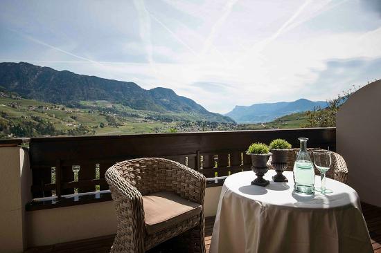 Hotel Chalet Gravenstein: Aussicht Balkon