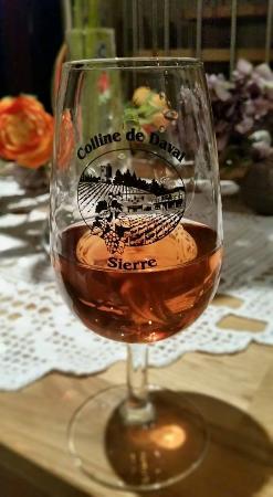 Colline de Daval: Blanc de Pinot Noir flétri