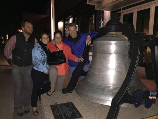 Aspen Walking Tours: Take the tour to know what trouble this bell has seen.