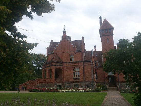 Tukums, Lettland: Jaunmoku pils