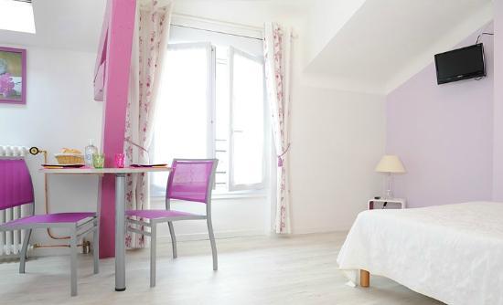 Hotel Gardenia : Studio vue mer