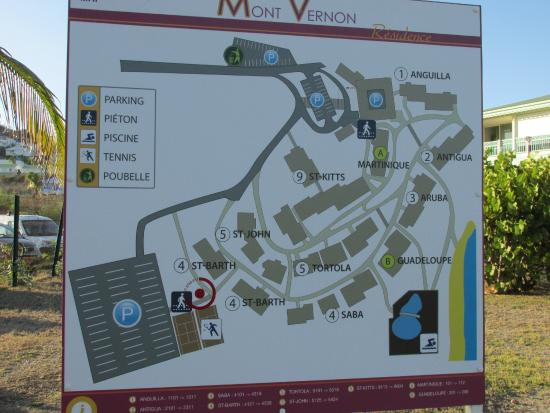 Hotel Mont Vernon: plan général