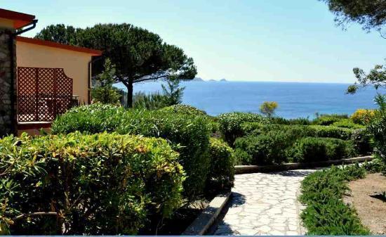 Residence Itelba: La vista a mare dal Residence