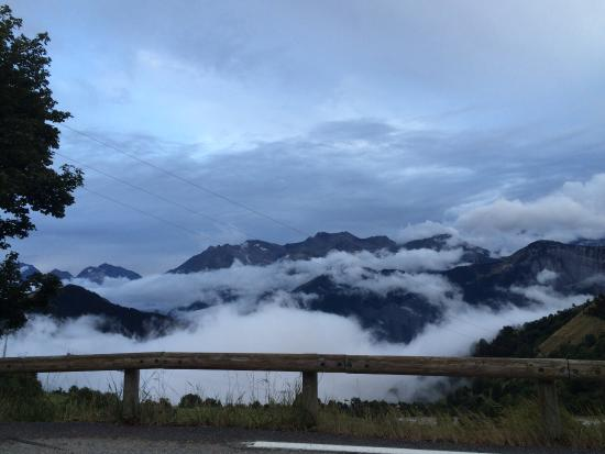 Hotel Le Dome : Above the clouds!