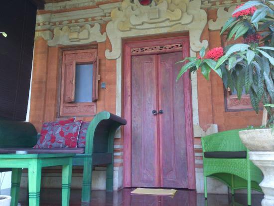 Geria Giri Shanti Bungalows : Bungalow Eingang