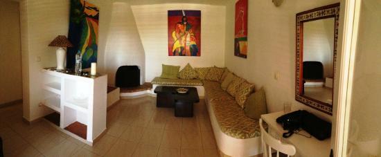 Casa Datscha: Wohnzimmer des Apartments