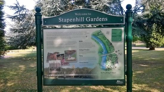 Burton upon Trent, UK: Stapenhill Gardens