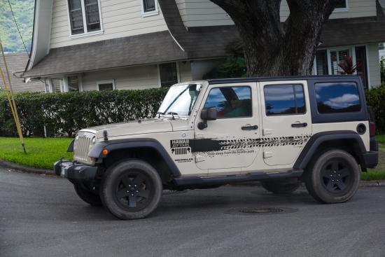 kono kalakaua 39 s house picture of hawaii jeep tours honolulu tripadvisor. Black Bedroom Furniture Sets. Home Design Ideas