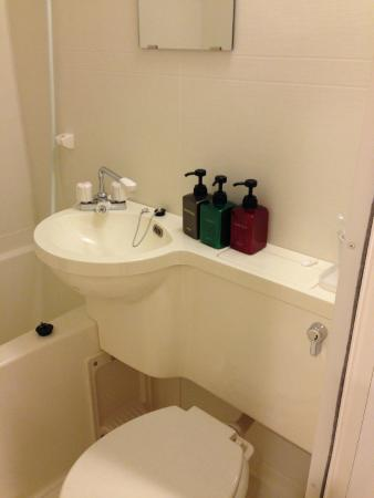 Hotel Kinki : Semi-double room bath