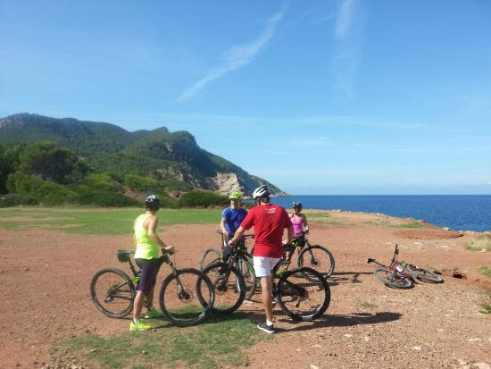 Vilafranca de Bonany, España: Mountain bike tour in Mallorca
