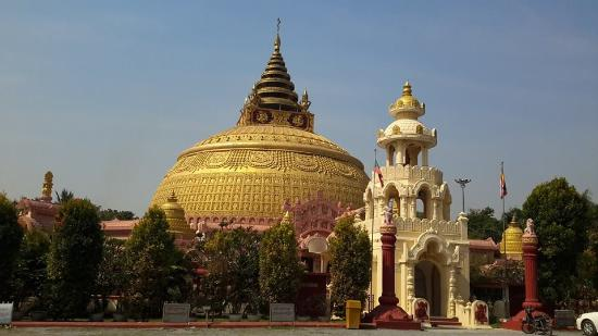 Sagaing Region, Myanmar: Sitagu International Buddhist Academy at Sagaing
