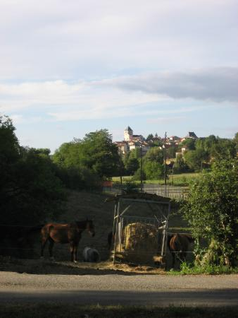 French Riding Holidays: A view from our bedroom window