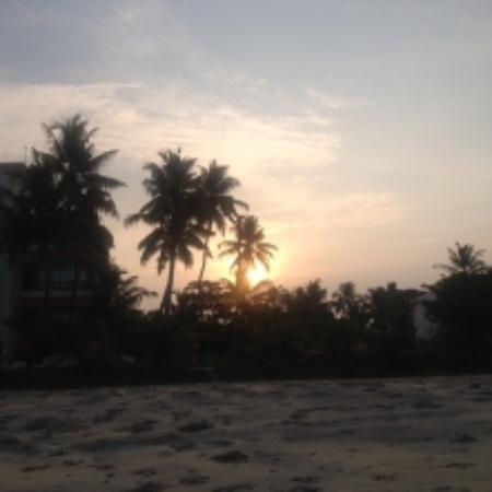 Palm Beach Resort: Sunset :)